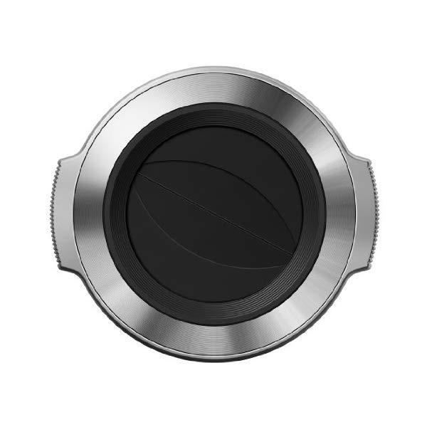 オリンパス LC-37C シルバー 自動開閉式レンズキャップ(メール便不可)