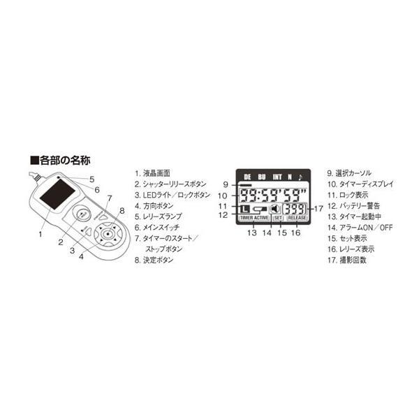 エツミ ニコン/フジフィルム用レリーズ タイマーリモートスイッチ N1(E-6316)(メール便不可)
