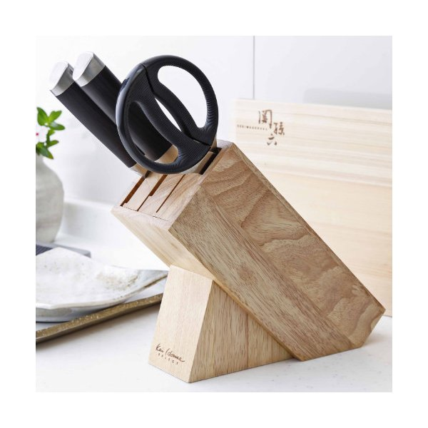 貝印 木製ナイフブロック AP-5321 Kai House SELECT