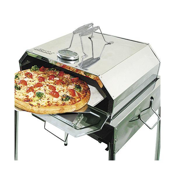【ピザストーン・ピザピール付】尾上製作所 コンパクトピザオーブン ON-1781【メール便不可】