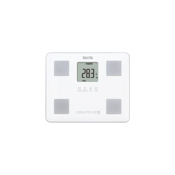 TANITA(タニタ) 体組成計 BC-760(ホワイト)「乗るピタ機能」を搭載・軽量コンパクトな体組成計(体重計・健康管理