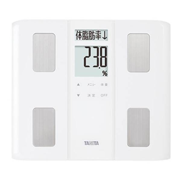 TANITA(タニタ)体組成計BC-331WH(BC331)ホワイト薄型ワイドマイサポ機能自動認識機能体内年齢体脂肪率測定BMI