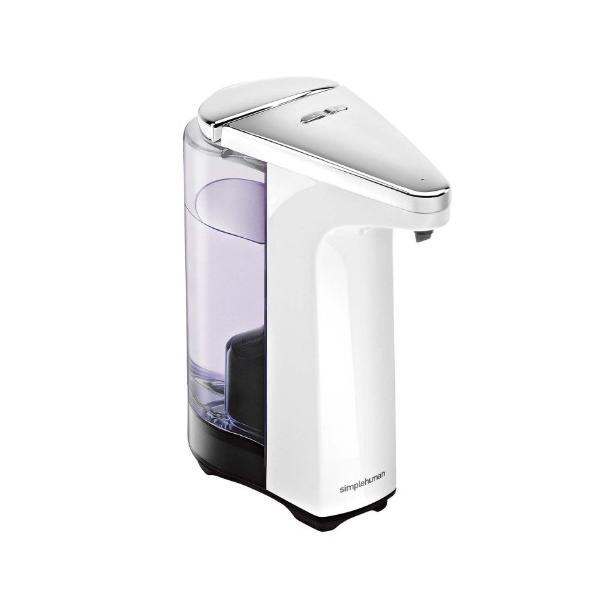 (正規販売店)simplehuman シンプルヒューマン センサーポンプ ホワイト ST1018(メーカー直送)(ラッピング不可)