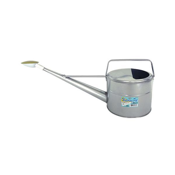 (代引不可) 尾上製作所 トタン散水ジョーロ 4L (ブリキ製じょうろ)(ラッピング不可)