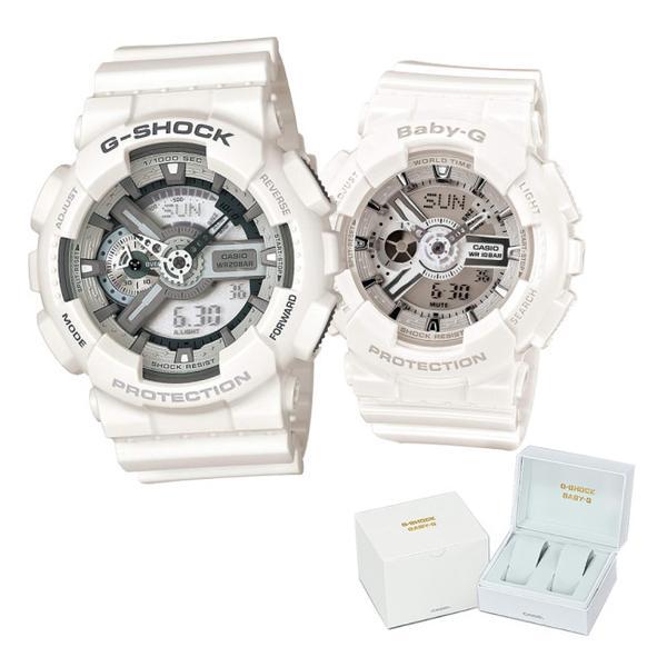 (専用ペア箱入りセット)(国内正規品)CASIO(カシオ) 腕時計 GA-110C-7AJF・BA-110-7A3JF G-SHOCK&BABY-G ペアウォッチ クオーツ(メール便不可)
