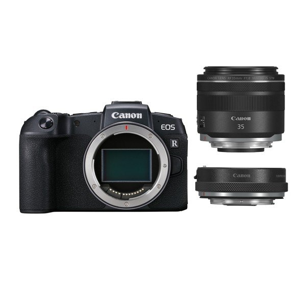 キヤノン ミラーレスカメラ EOS RP ・RF35 MACRO IS STM マウントアダプターキット EOSRP-35MISMADK (商品コード:3380C049)(Canon)(メール便不可)