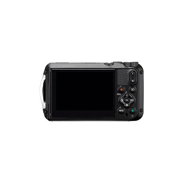 リコー (RICOH) 防水・防塵・耐衝撃・防寒 デジタルカメラ WG-6 ブラック (SDHCカード 16GB&液晶フィルム&ジャケットセット) (メール便不可)