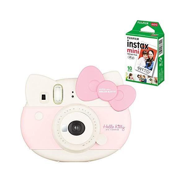 (チェキフィルム10枚セット)フジフイルム インスタントカメラ チェキ instax mini HELLO KITTY (ハローキティ)  (メール便不可)