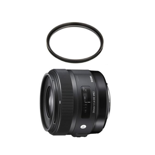 シグマ 30mm F1.4 DC HSM キヤノン用 (EFマウント) Art 標準レンズ (レンズ保護フィルター付) (メール便不可)