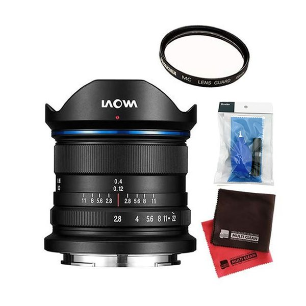 LAOWA 広角レンズ 9mm F2.8 Zero-D 富士フイルムX用 (商品コード:LAO0027) (メール便不可)