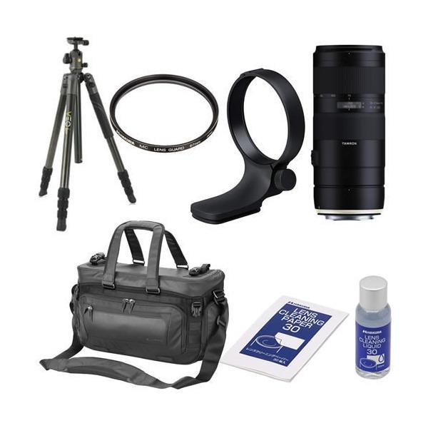 (三脚+カメラバックセット) TAMRON タムロン レンズ 70-210mm F/4 Di VC USD キヤノン用 (A034E)  (メール便不可)(ラッピング不可)