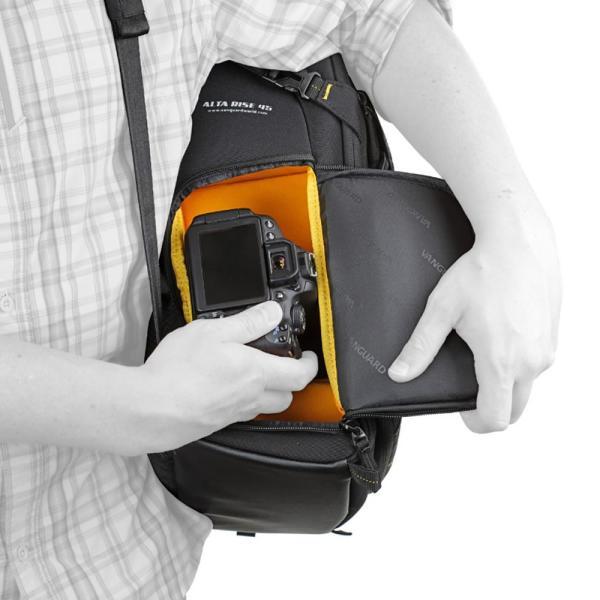(カメララップ&クロスセット) バンガード カメラバッグ ALTA RISE 45 (メール便不可)