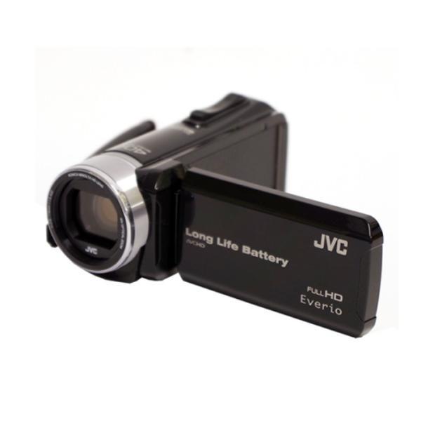 (4点セット)JVCケンウッド GZ-L500 ハイビジョンメモリームービー [Everio/エブリオ][ムービーカメラ][ビデオカメラ][GZL500][カラー選択式](メール便不可)