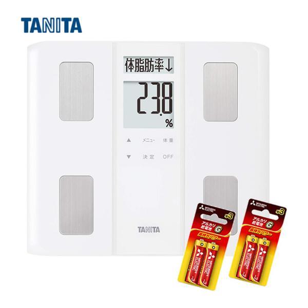 モニター電池だけではという声にお応えのセットTANITA タニタ 体組成計BC-331WH(BC331WH)ホワイト薄型マイサポ