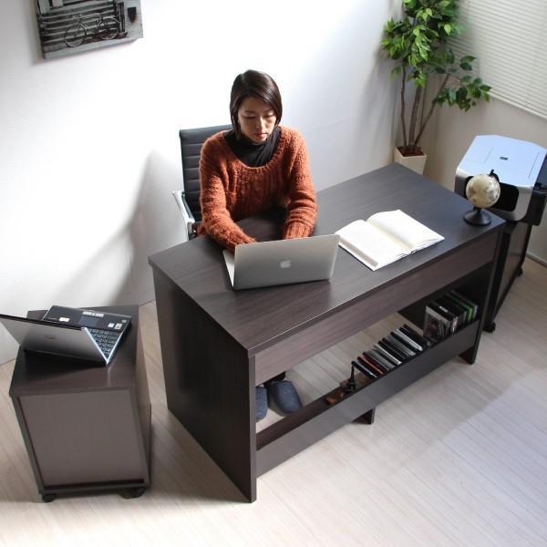 パソコンデスク システムデスク 3点セット 110cm幅 チェスト ラック J-Supply Ltd.(ジェイサプライ)期間限定|homestyle|19