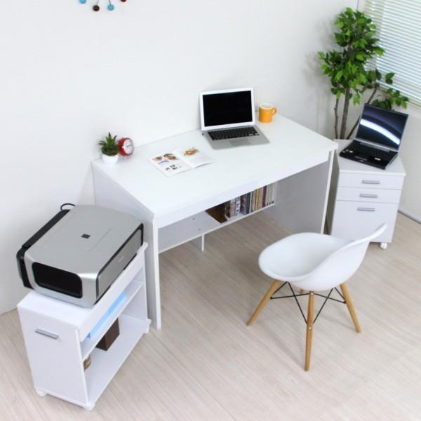 パソコンデスク システムデスク 3点セット 110cm幅 チェスト ラック J-Supply Ltd.(ジェイサプライ)期間限定|homestyle|04