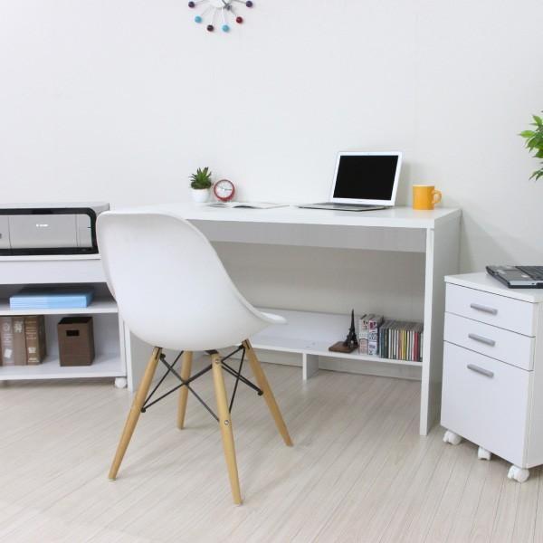 パソコンデスク システムデスク 3点セット 110cm幅 チェスト ラック J-Supply Ltd.(ジェイサプライ)期間限定|homestyle|05