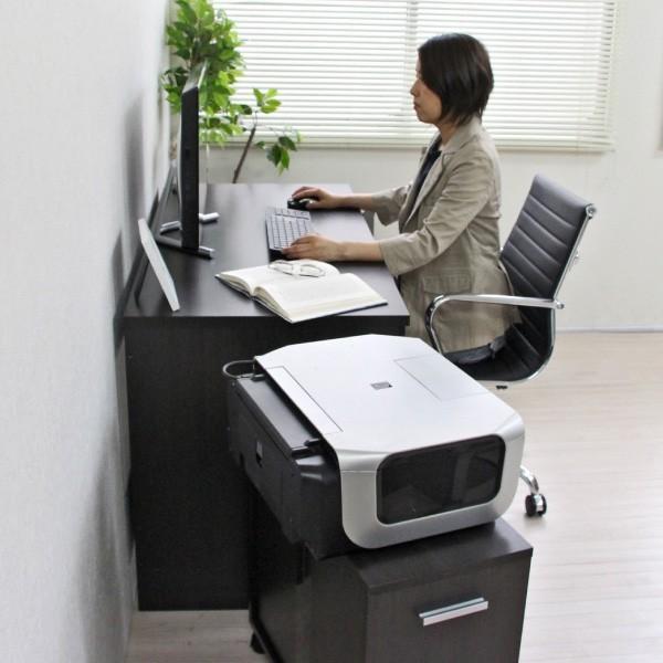 パソコンデスク システムデスク 3点セット 110cm幅 チェスト ラック J-Supply Ltd.(ジェイサプライ)期間限定|homestyle|09
