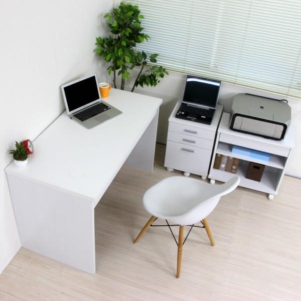 パソコンデスク システムデスク 3点セット 110cm幅 チェスト ラック J-Supply Ltd.(ジェイサプライ)期間限定|homestyle|10