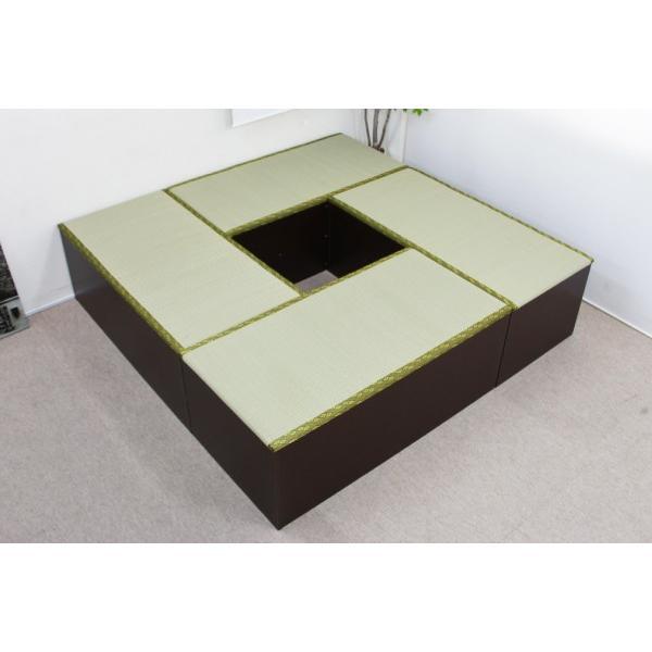 ユニット畳 1畳 4本セット 収納ケース 高床 置き畳 ユニットボックス ハイタイプ|homestyle|02