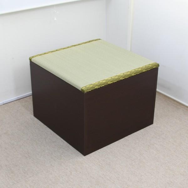 ユニット畳 半畳 収納ケース 高床式 置き畳 ユニットボックス ハイタイプ|homestyle|02