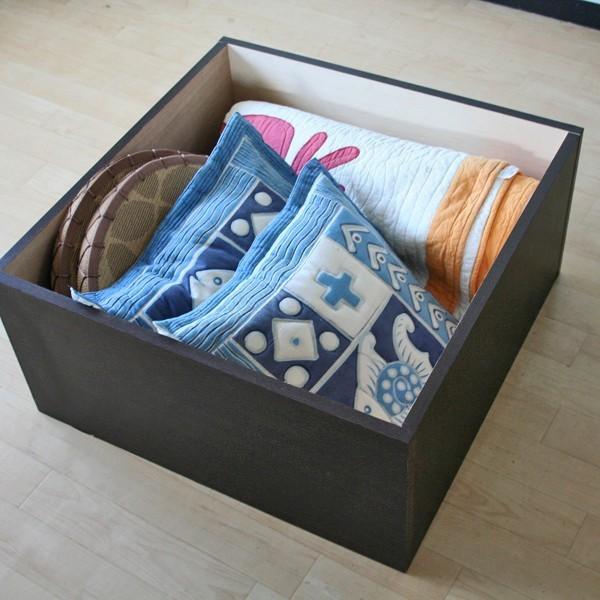 ユニット畳 半畳 収納ケース 高床式 置き畳 ユニットボックス ハイタイプ|homestyle|03