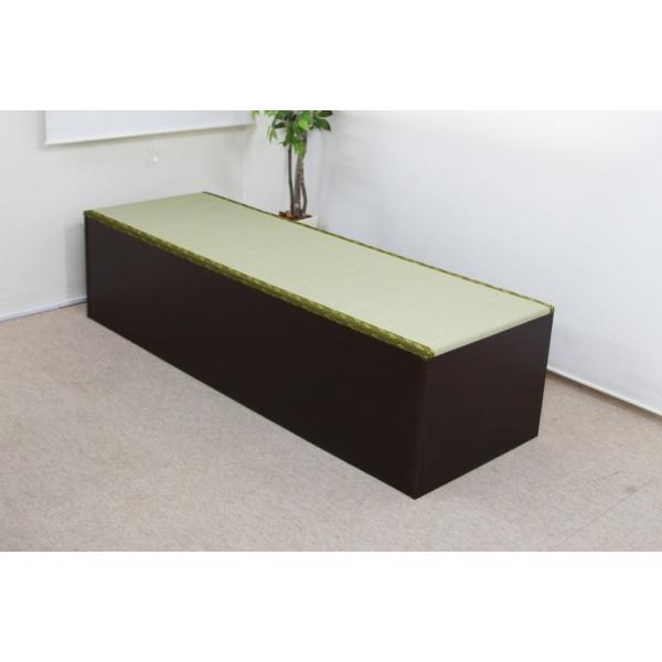 ユニット畳 人気の高床式ユニット畳(1・5畳タイプ)収納ケース 高床 置き畳 ユニットボックス ハイタイプ|homestyle|02