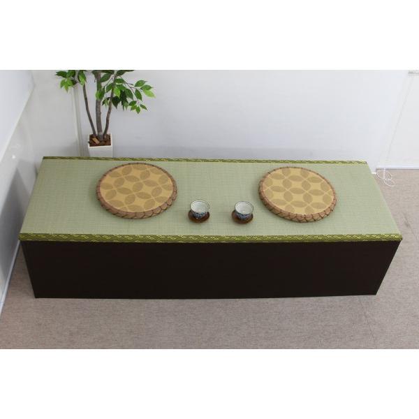 ユニット畳 人気の高床式ユニット畳(1・5畳タイプ)収納ケース 高床 置き畳 ユニットボックス ハイタイプ|homestyle|03
