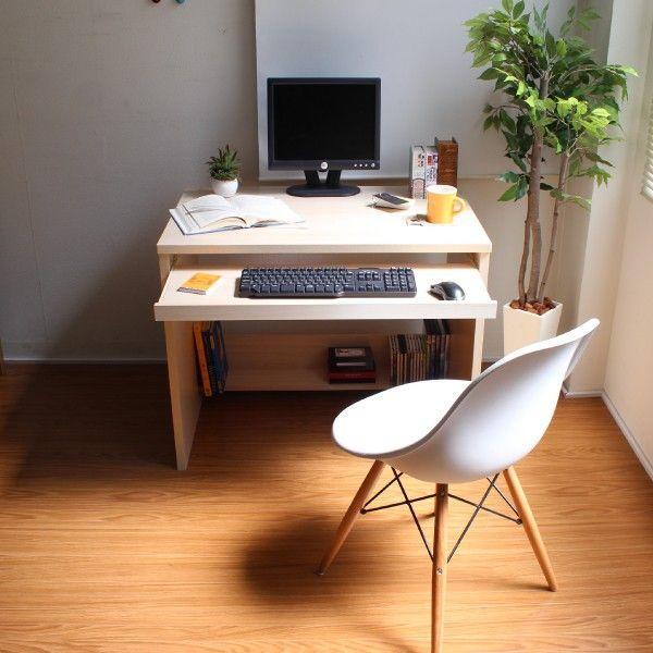パソコンデスク オフィスデスク 木製 北欧 homestyle 02