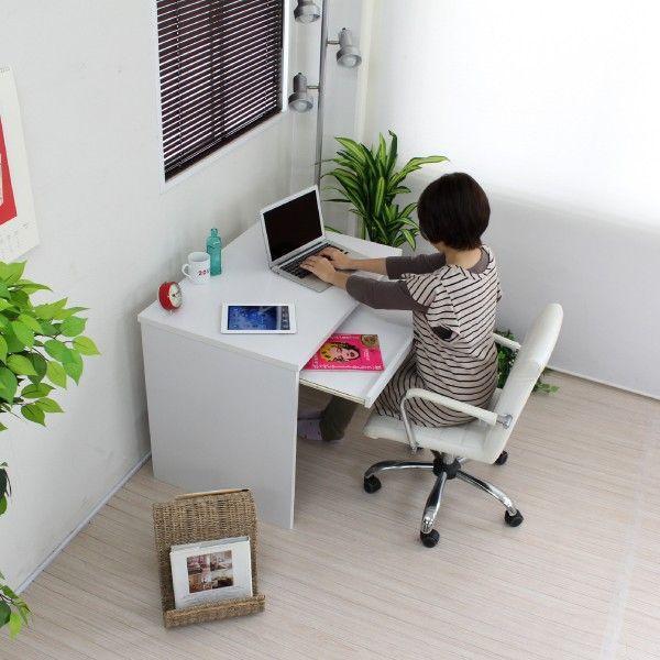 パソコンデスク オフィスデスク 木製 北欧 homestyle 03