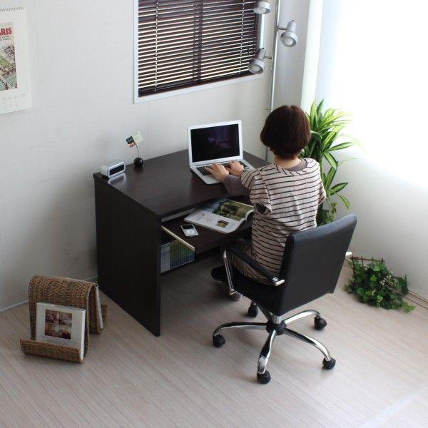 パソコンデスク オフィスデスク 木製 北欧 homestyle 04