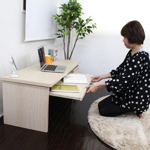 パソコンデスク オフィスデスク 木製 北欧 homestyle 05