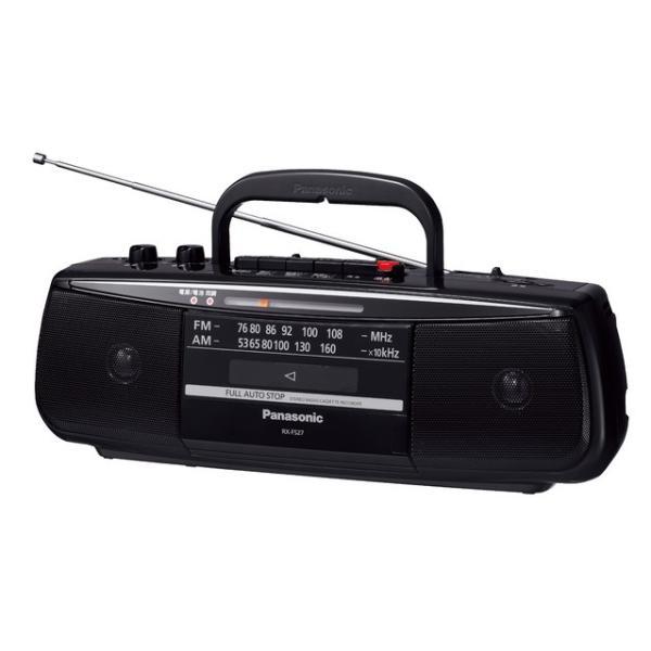 パナソニック ラジオカセット ステレオラジオカセットレコーダー RX-FS27 送料無料