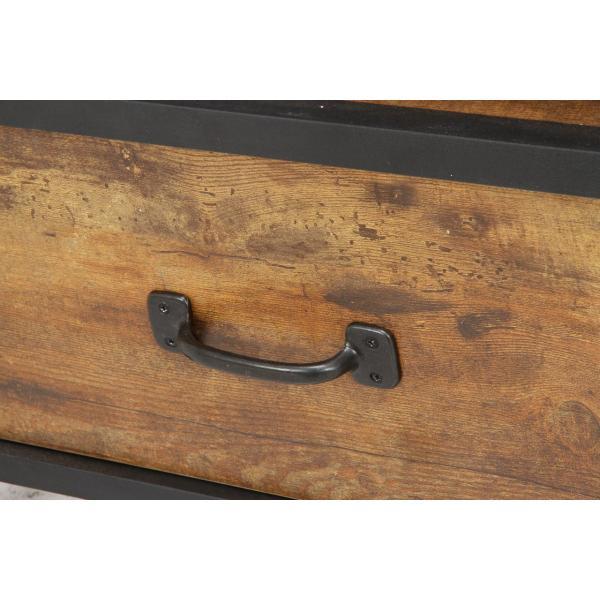 クルト TVボード 幅110cm ブルックリンスタイル homeworkslimited 06