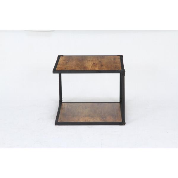 クルト サイドテーブル サイズ50×50cm ブルックリンスタイル|homeworkslimited|03
