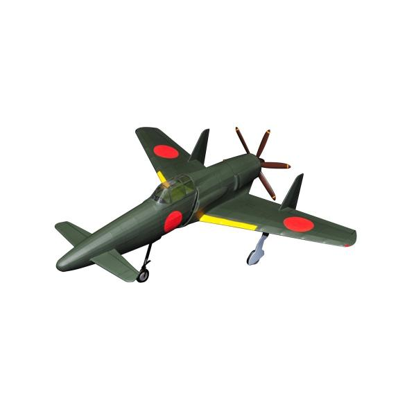 スタジオミド 震電 ゴム動力模型飛行機キット BF-004|homeyayafutenn