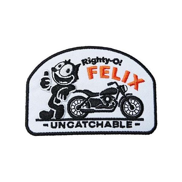 フィリックス(FELIX) UN-CAT-CHABLEシリーズ ワッペン パッチ Felix Custom Patches Righty-O! FEL|homeyayafutenn
