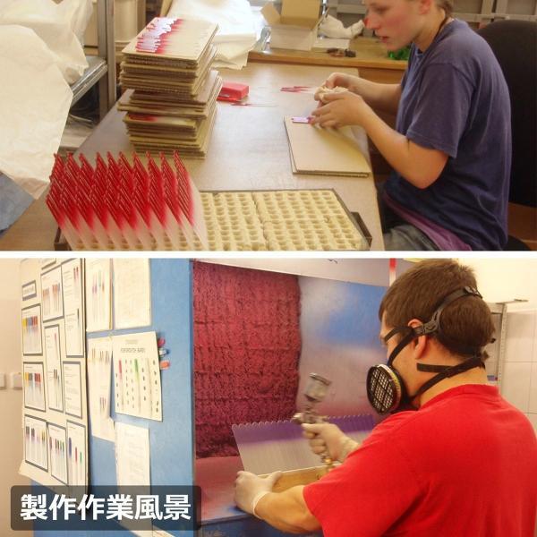 チェコ の職人が仕上げた ガラス製 爪やすり 90mm 両面タイプ ピンク  (透明ソフトケース入り)|homeyayafutenn|06