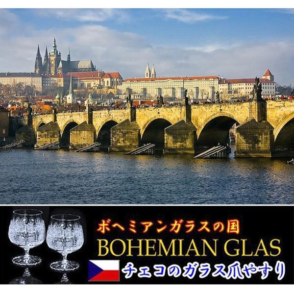 チェコ の職人が仕上げた ガラス製 爪やすり 90mm 両面タイプ ピンク  (透明ソフトケース入り)|homeyayafutenn|07