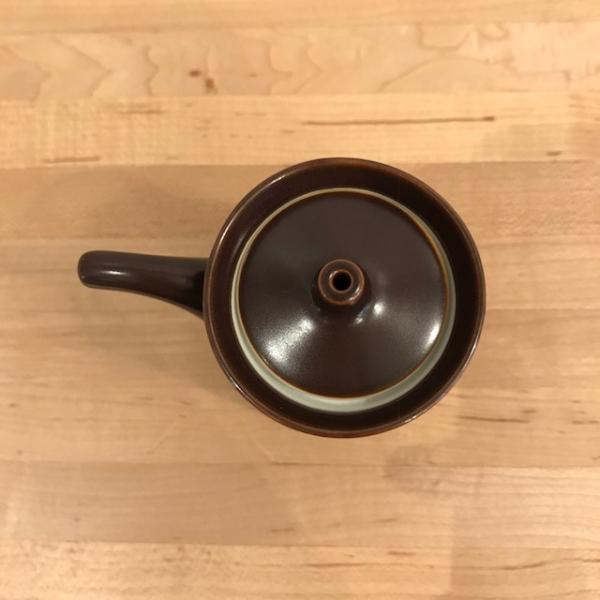 白山陶器 G型しょうゆさし 小 鉄砂(茶) homeyroomstyle 02