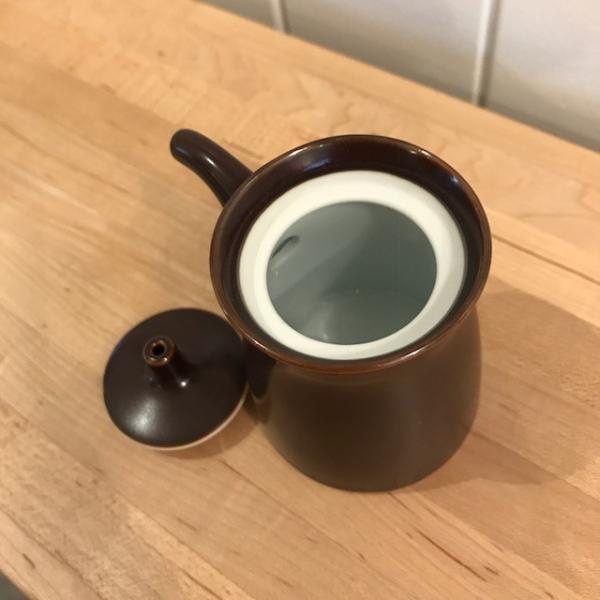 白山陶器 G型しょうゆさし 小 鉄砂(茶) homeyroomstyle 03
