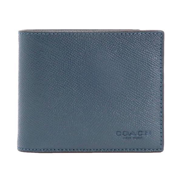 new product b67b2 8ad42 【ポイント2倍】コーチ 二つ折り財布 メンズ COACH F59112 DDE アウトレット