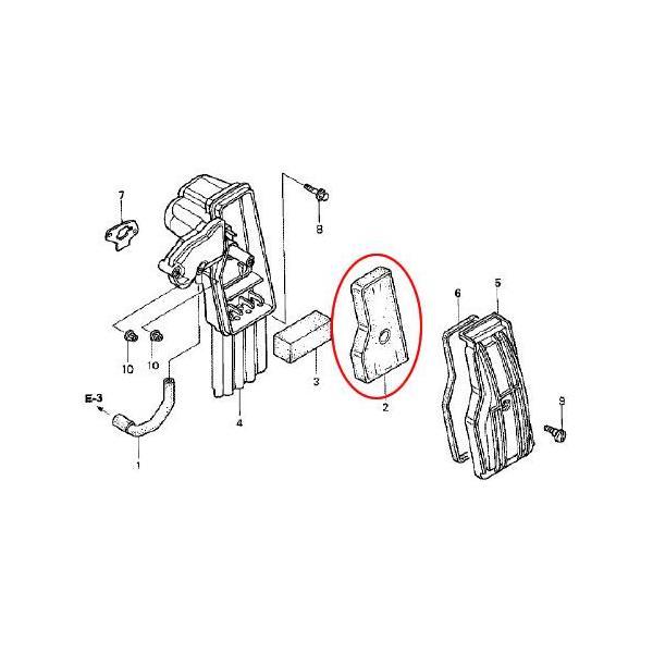 ホンダ発電機純正パーツ EU16i用 エアクリーナー 【17211-z07-000】|honda-walk|02