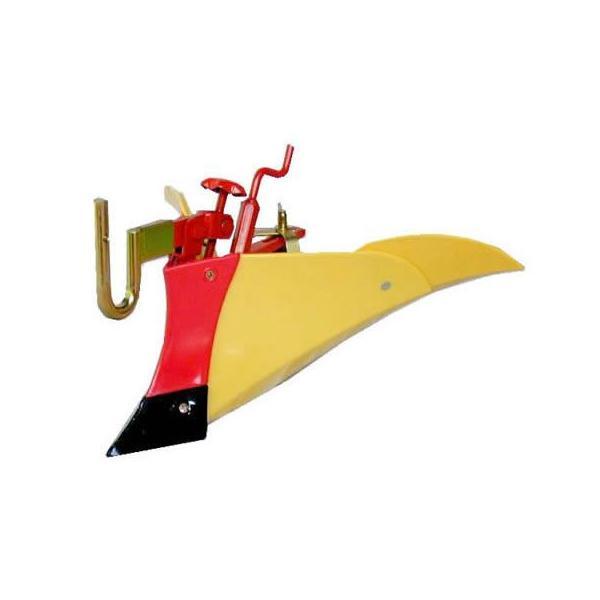 [毎月1日はPLOWの日 全品P5倍] クボタ 耕運機 耕うん機オプション TMC200・TMS30・TMAシリーズ用 ニューイエロー培土機〔尾輪付〕A 91223-40410