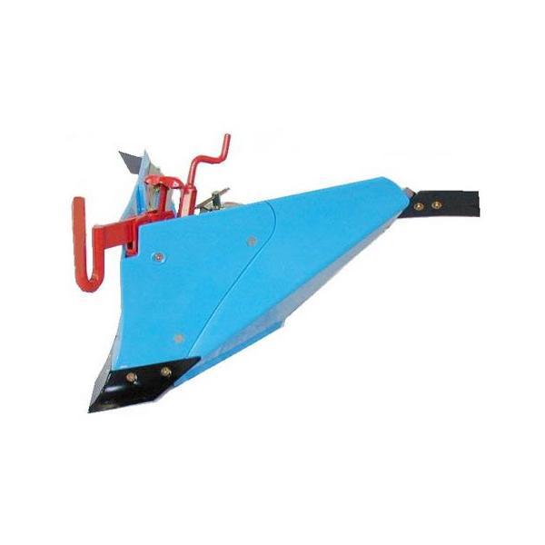 [毎月1日はPLOWの日 全品P5倍] クボタ 耕運機 耕うん機オプション TMC200・TMS30・TMAシリーズ用 ブルー溝浚機(尾輪付) 91223-50640