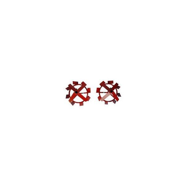 [毎月1日はPLOWの日 全品P5倍] クボタ 耕運機 耕うん機オプション TMS30・TMAシリーズ用 ショルダーカット車輪 98612-69340