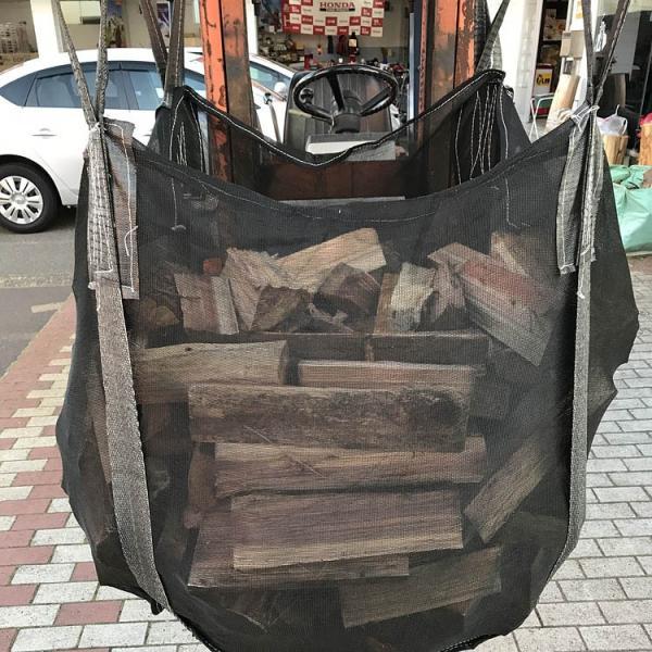 即納 薪保管袋 ウッドストック 【PH-WS10】 薪袋 サイズ1m×1m×1m 薪ストーブ  アクセサリー|honda-walk|04