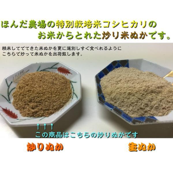 (送料無料)自然の恵み焙煎米ぬか「素肌美人」100gメール便 hondanojo 02