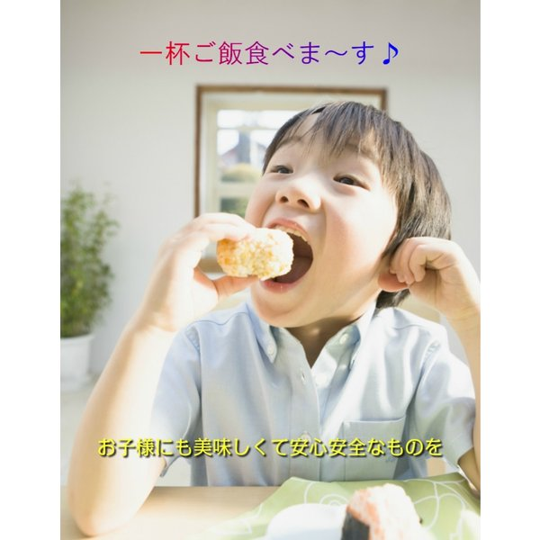 子供も好き嫌いなく食べます。無農薬 お米