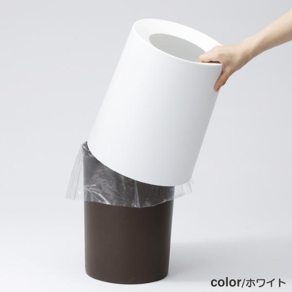 トラッシュカン チューブラー オム 大 ゴミ箱 おしゃれ イデアコ|honest|05